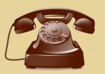 téléphone marron1